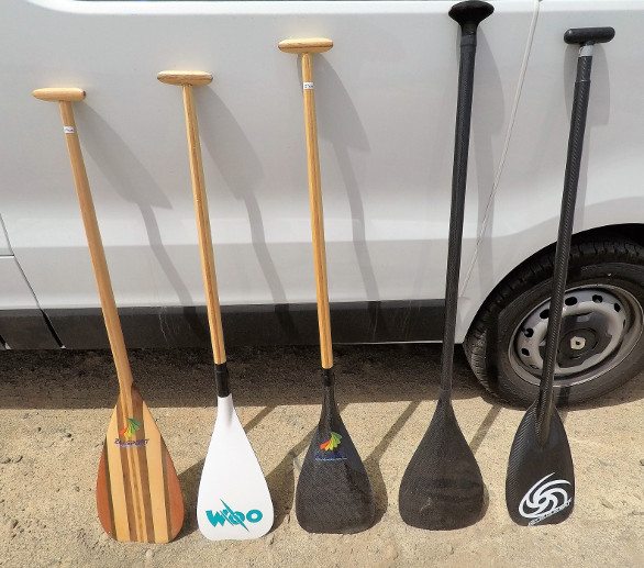 Outrigger Paddles