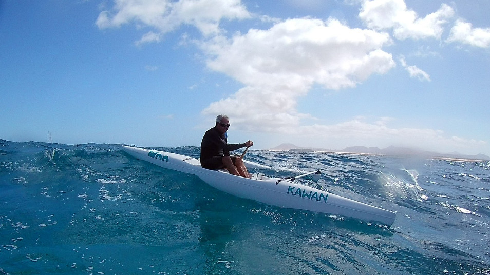 Outrigger downwind