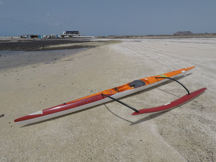 Outrigger Canoe OC1 Outrigger Connection Osprey